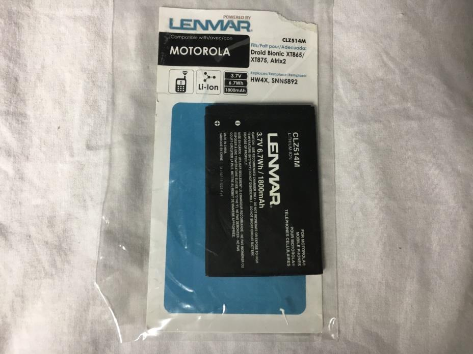 Lenmar CLZ514M Replacement Battery for Motorola Droid Bionic XT865/XT875 Atrix2