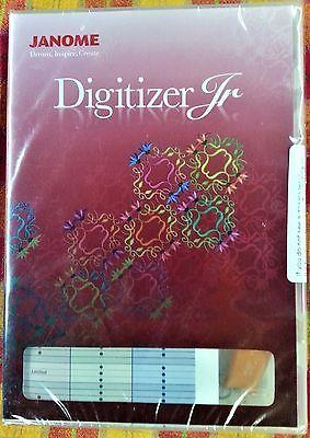Janome Digitizer Jr.  Embroidery Digitizing software