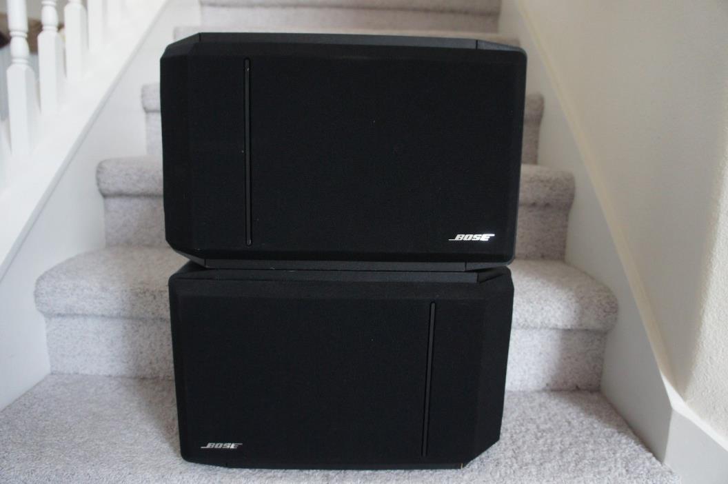 Pair of BOSE 301 series IV speakers