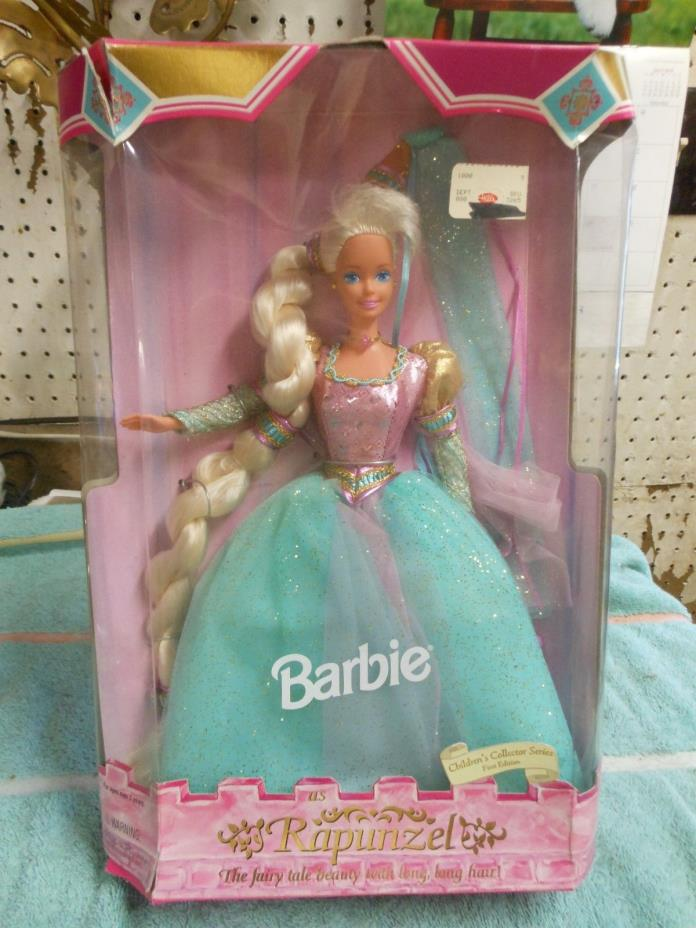 1994 Mattel Rapunzel Barbie Children's Collector Series NIB