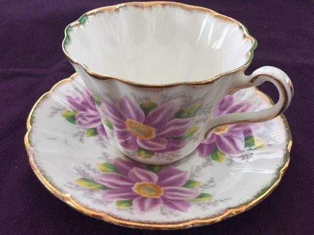 Royal Stafford Tea Cup and Saucer
