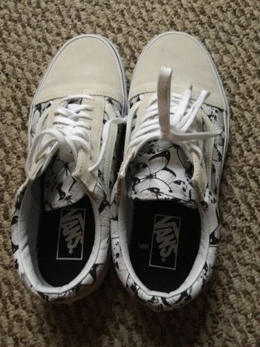 Vans Women Shoes White 8.5