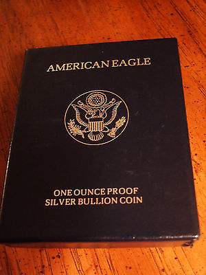 Lot of American Silver Eagle Proofs