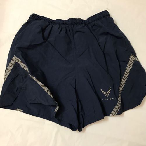 U.S AIR FORCE Physical Training, Gym, Running Trunk Shorts Size L