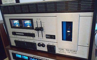 Tandberg TCD-310 MkII Dual Capstan Cassette Tape Player Recorder
