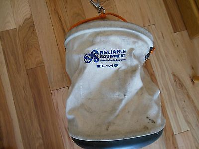 Lineman Canvas Utility Tote Tool Bag w Hook