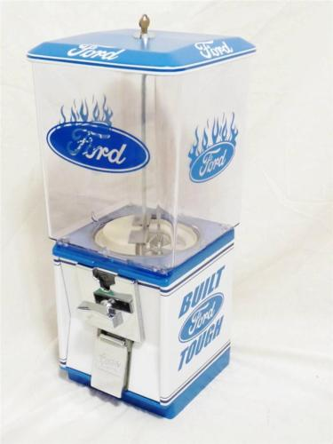 vintage gumball machine themed FORD BUILD TOUGH  candy machine
