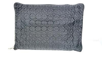 Traveller's Friend  Grey Travel Bag Inflatable Pillow & Fleece Blanket