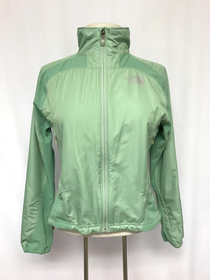 womens green THE NORTH FACE windbreaker jacket flight series packable SMALL