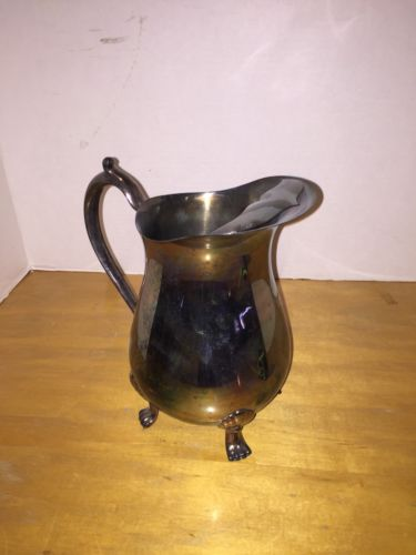 Leonard Silver Plated Water Pitcher