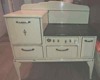 Vintage Porcelain Gas Stove
