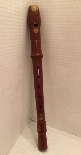 Vintage Wooden Flute W Germany Ideal
