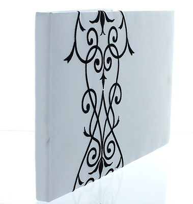Satin Black & White Design Wedding Guestbook Ceremony Reception Decoration