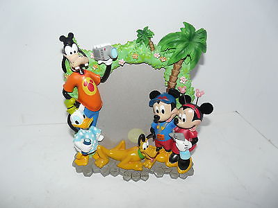 Mickey Mouse Walt Disney World Parks Picture Frame Tourist 5x7