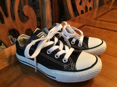 Boys Size 11 Converse Shoes Black Converse Shoes Size Boys 11