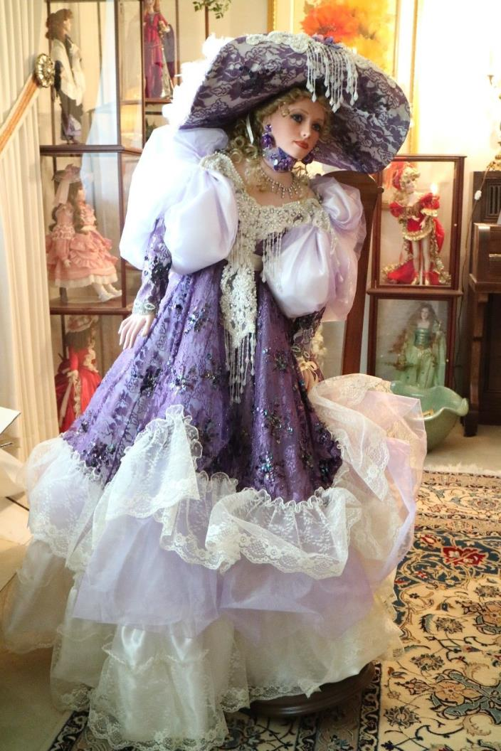 Collectible Concepts Limited Edition Artist Doll- Passion by Rustie
