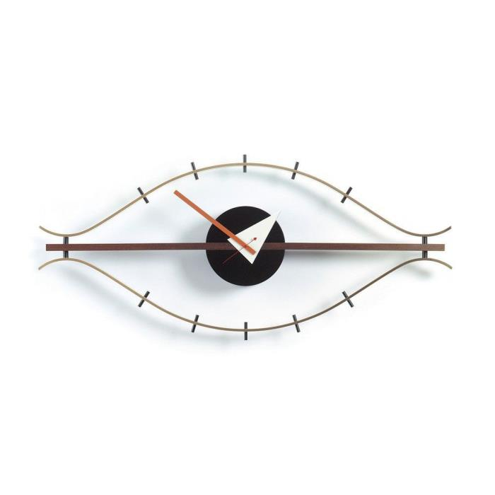 Authentic Vitra Eye Wall Clock by George Nelson & Lucia DeRespinis Modern DWR