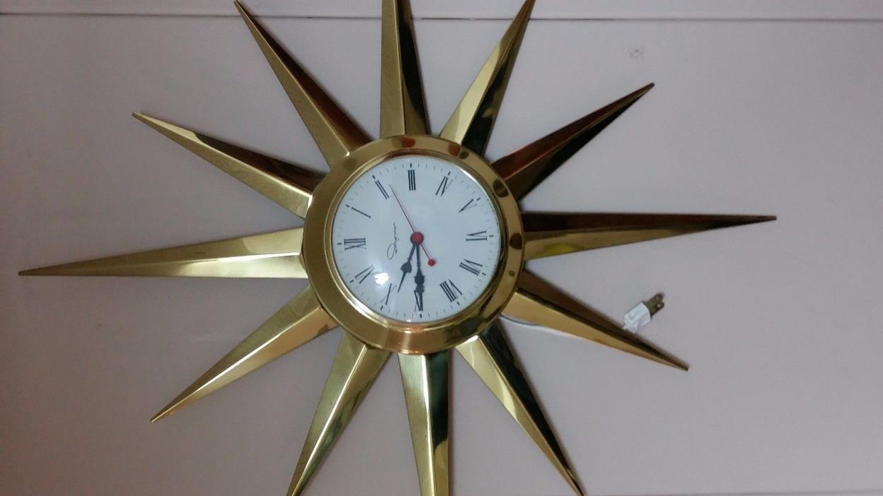 Wall Clock Sunburst For Sale Classifieds