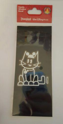 Walt Disney Family Window Decal CAT New