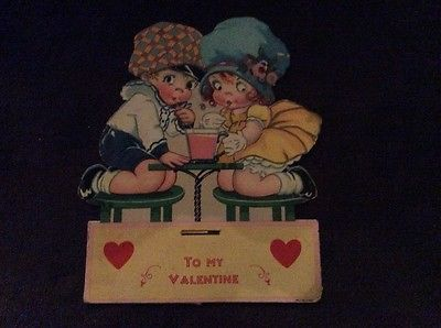 VINTAGE MECHANICAL VALENTINE