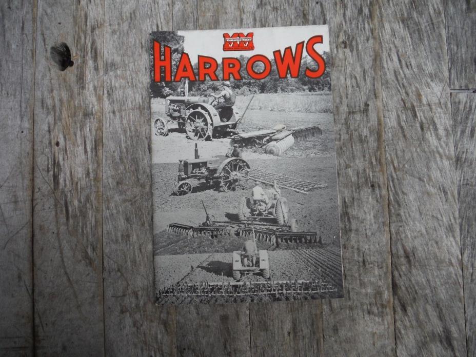 Antique Spike Harrows : Farm equipment harrow for sale classifieds