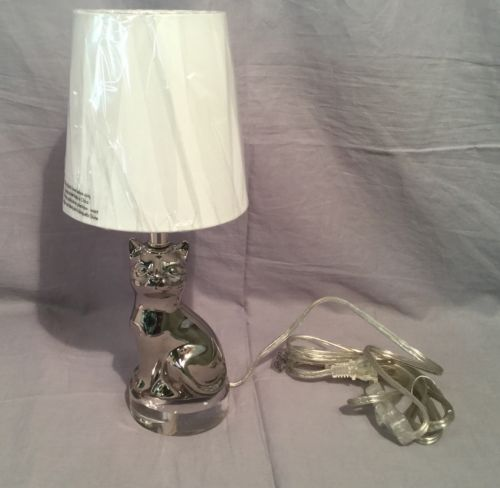 Pottery Barn Kids Mini Kitty Lamp