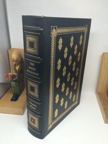 The Magic Mountain by Thomas Mann Easton Press Leather Bound