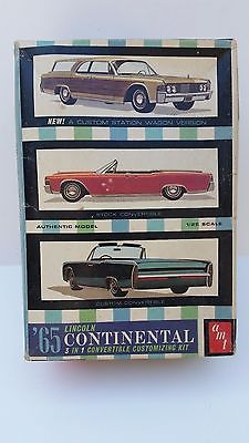 Original AMT 65 Lincoln Continental 3 in 1 Convertible Customizing Kit #6415-200