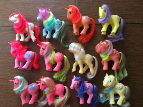 G1 Mlp My Little Pony Lot Gypsy Flutterbye Music Time Ringlet Cherry Treats Etc