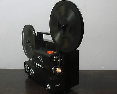 CHINON 2000GL DUAL 8mm Super 8 / Reg 8mm PROJECTOR ADJUSTABLE SPEED