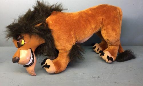 Rare Scar plush Lion King Applause Disney