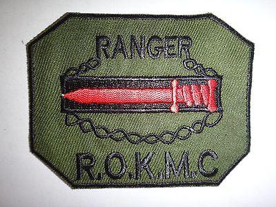 Vietnam War South Korea RANGER ROK Marine Corps Subdued Patch