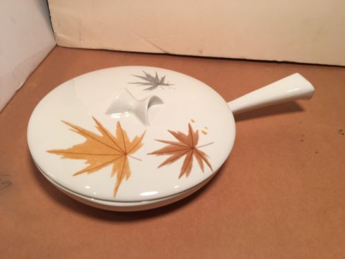 IROQUOIS BEN SEIBEL HARVEST TIME FRYING PAN and LID