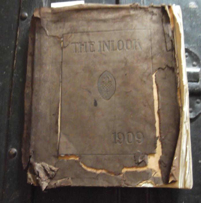 1909 YEARBOOK-ANNUAL-THE INLOOK-STUART HALL-STAUNTON VIRGINIA-FEMALE INSTITUTE