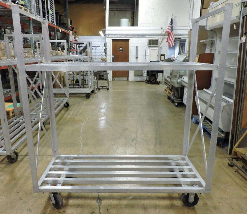 Used Channel Mfg BBT-2 Aluminum Cooler/Box Transport Truck
