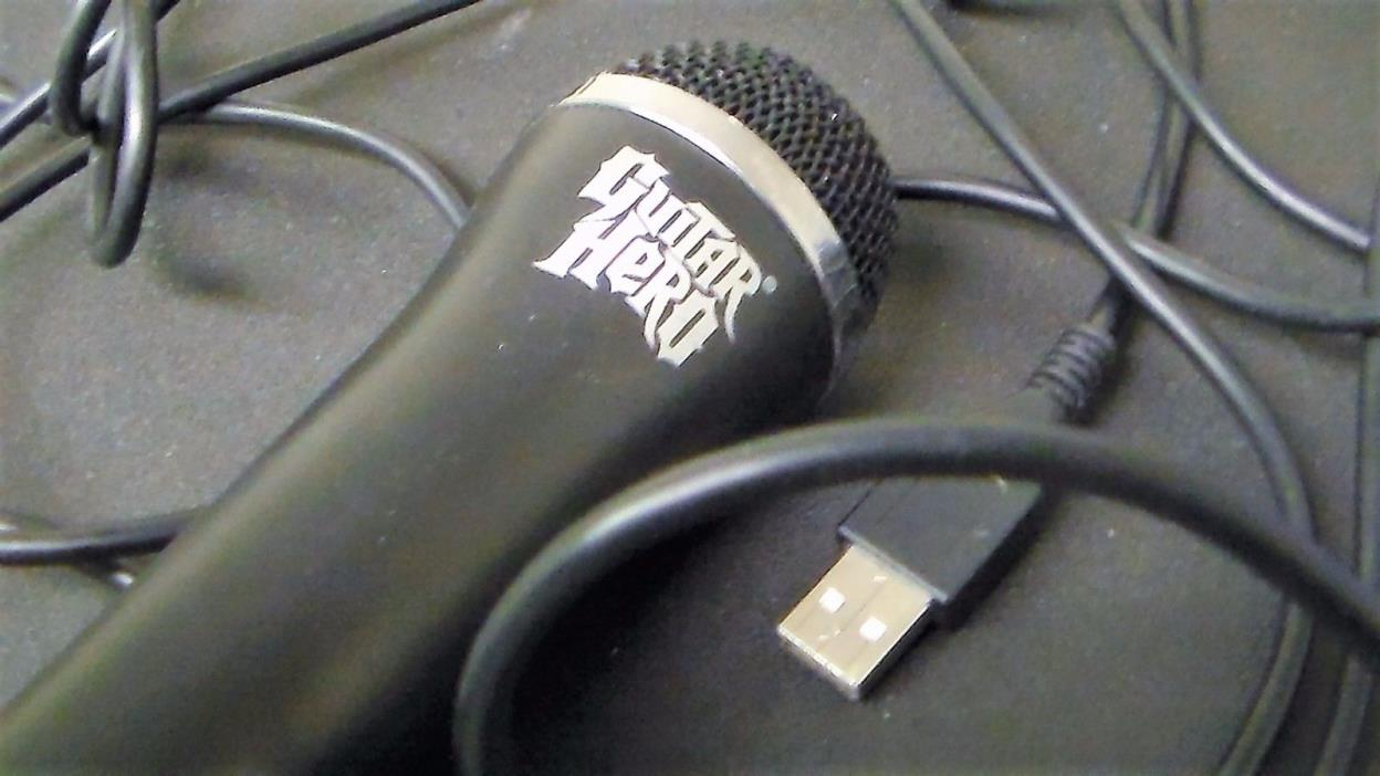 Guitar Hero Microphone for Wii/Xbox 360/PS3