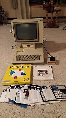 Working Apple IIe