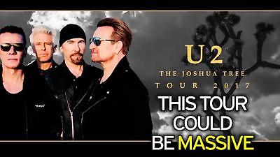 U2 & The Lumineers on The Joshua Tree Tour 2017 at Gillette Stadium 6/25/2017
