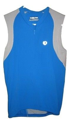 PEARL IZUMI Blue CYCLE Sleeveless CYCLING JERSEY Womens ROAD BIKE XS