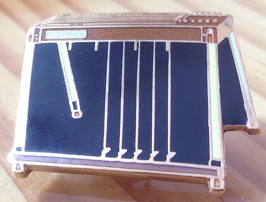 Sierra Pedal Steel Guitar Pin