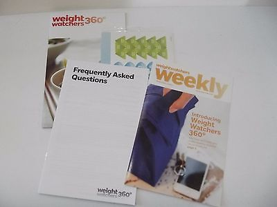 Weight Watchers 360 Starter Pamphlets Stickers FAQ