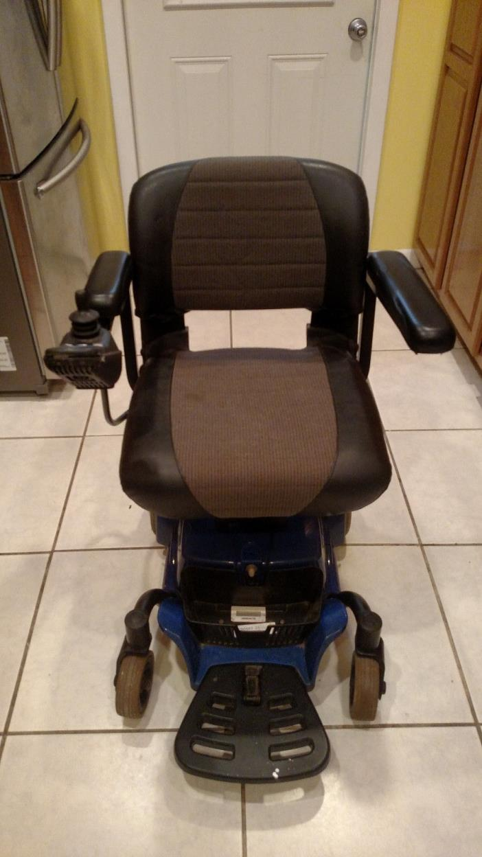 Pride Go-Chair Powered Wheelchair, New Batteries