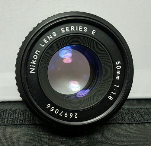 Nikon 50mm 1:1.8 Series E Camera Lens f/1.8