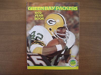 Green Bay Packers 1972 Yearbook