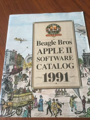 Apple IIe IIc IIGS Beagle Bros 1991