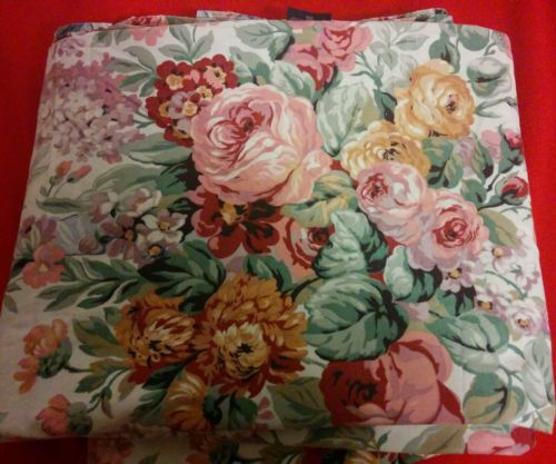Ralph lauren Allison floral queen size flat sheet