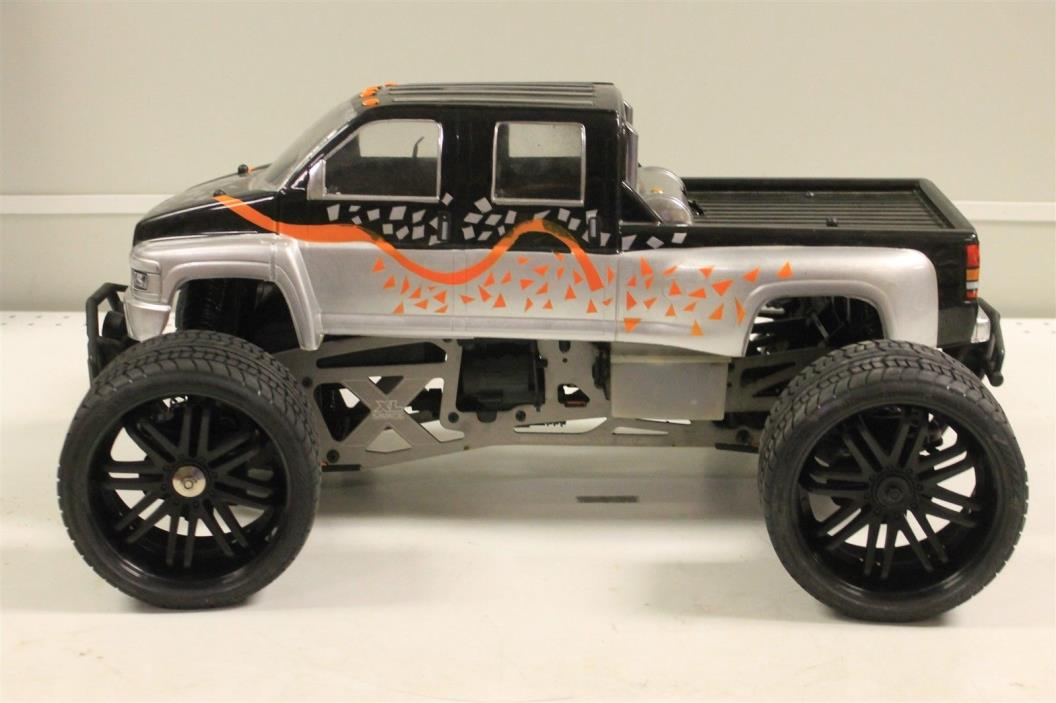 HPI Savage XL Nitro R/C 1/8 Scale Truck Used As-Is