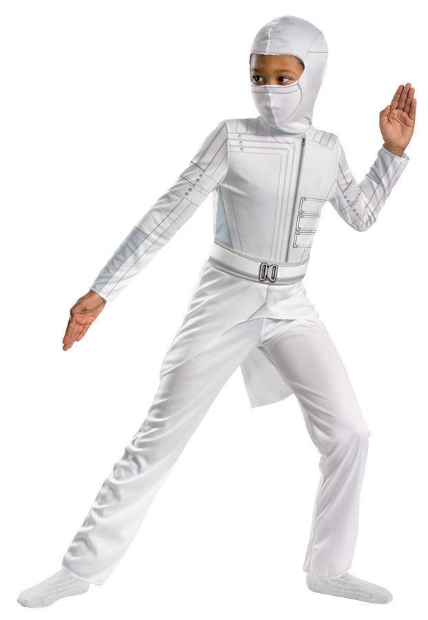 G.I.JOE STORM SHADOW NINJA CHILD COSTUME Halloween Cosplay Fancy Dress B11