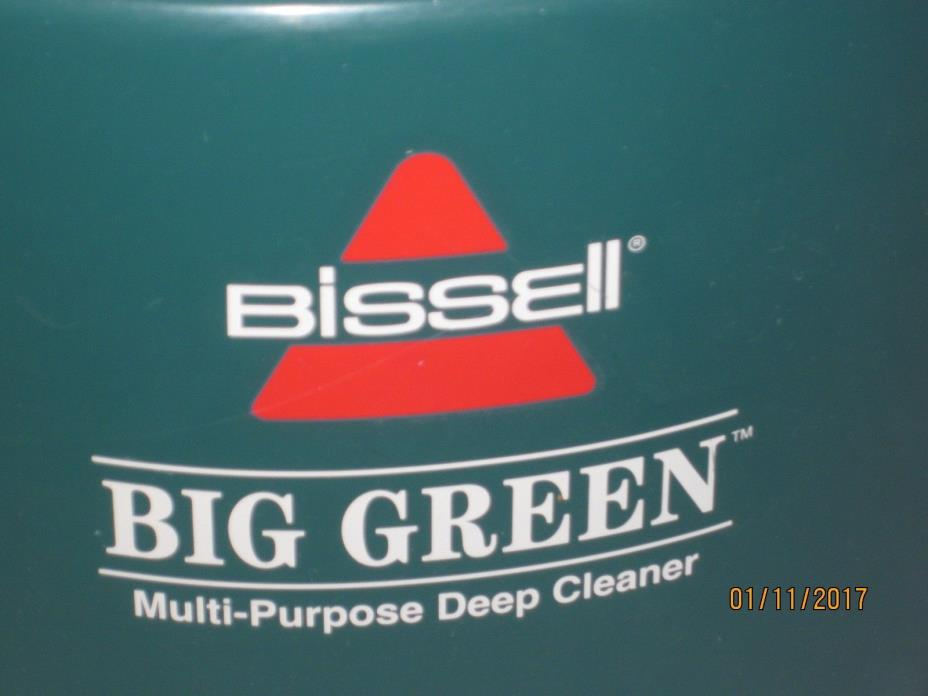 Bissell BIG GREEN CLEAN MACHINE (1671) carpet & upholstery shampoo cleaner