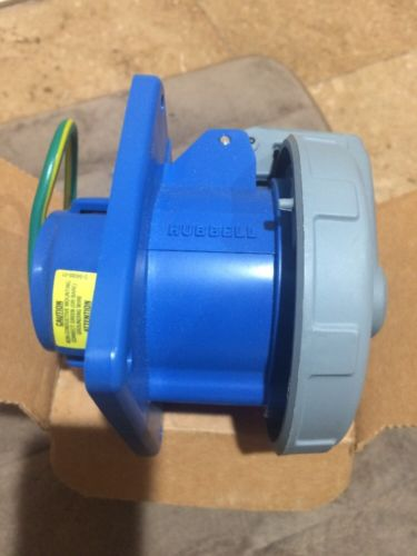 HUBBELL Pin&Sleeve Receptacle HBL330R6W 30A 250V 2-POLE 3-WIRE